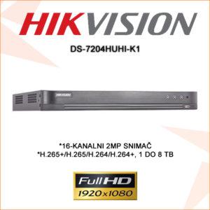 Hikvision snimač DS-7204HUHI-K1