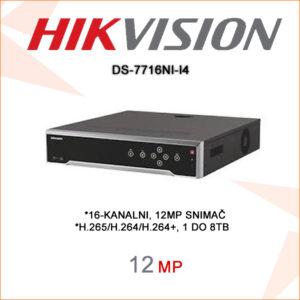 Hikvision snimač DS-7716NI-I4