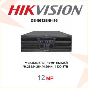 Hikvision snimač DS-96128NI-I16