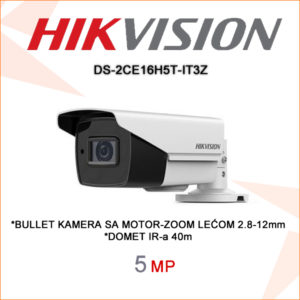 Hikvision kamera ds-2ce16h5t-it3z
