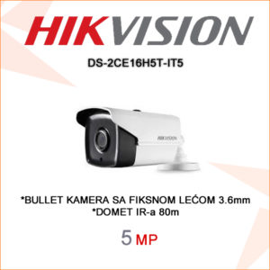 Hikvision kamera ds-2ce16h5t-it5