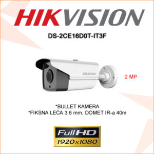 Hikvision kamera ds-2ce16d0t-it3f