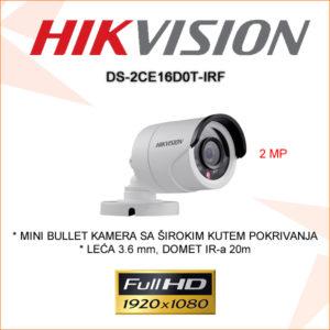 Hikvision kamera ds-2ce16d0t-irf