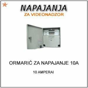 AC/DC ADAPTER ORMARIĆ 220V NA 12V- 10 AMPERA-18 IZLAZA