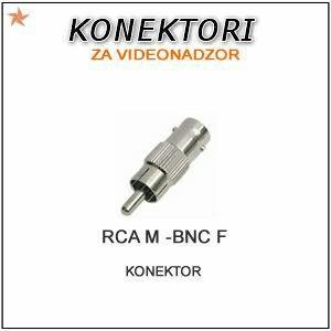 BNC F/RCA M KONEKTOR ZA VIDEONADZOR
