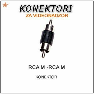 RCA M/M KONEKTOR ZA VIDEO/AUDIO NADZOR