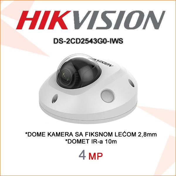 Hikvision kamera ds-2cd2543g0-iws