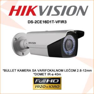 Hikvision kamera ds-2ce16d1t-vfir3