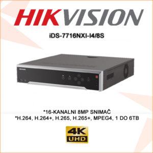 Hikvision snimač ids-773216nxi-i4/8s