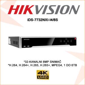Hikvision snimač ids-7732nxi-i4/8s