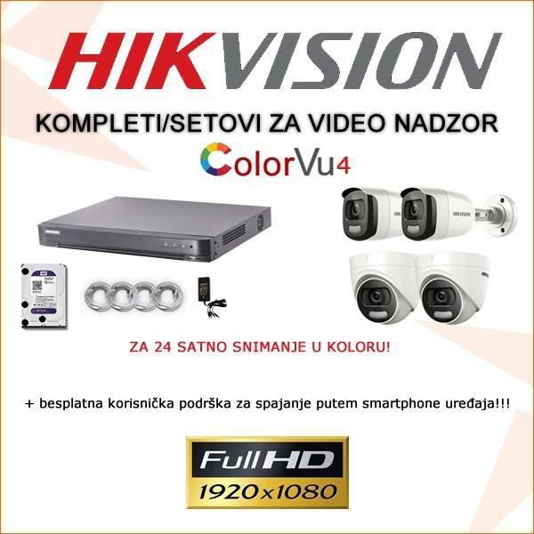 Hikvision komplet color vu