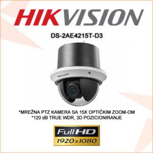 Hikvision PTZ kamera DS-2AE4215T-D3
