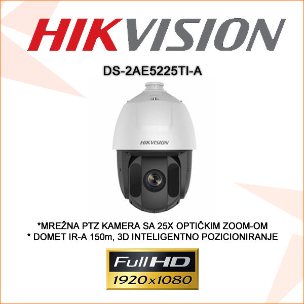 Hikvision kamera ds-2ae5225ti-a