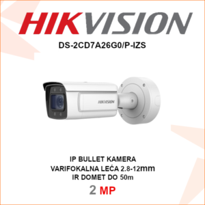 HIKVISION 2MP IP kamera 2.8-12mm DS-2CD7A26G0-P-IZS