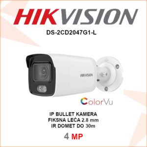 HIKVISION 4MP IP ColorVu kamera DS-2CD2047G1-L