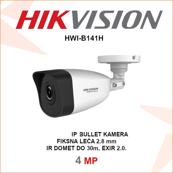 HIKVISION 4MP IP EXIR BULLET KAMERA HWI-B141H