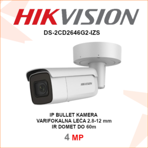 HIKVISION IP 4MP IR kamera DS-2CD2646G2-IZS